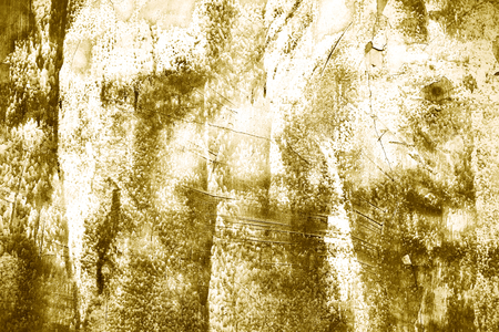 Rustic gold paint textured background