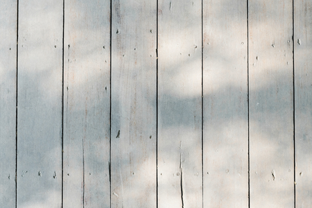 Bleached wooden planks textured background Stock Photo