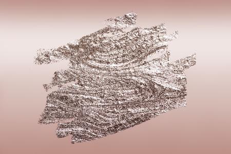 Rose Gold Pinsel strich strukturierten Hintergrund