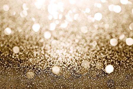 Shiny gold glitter textured background Stock fotó