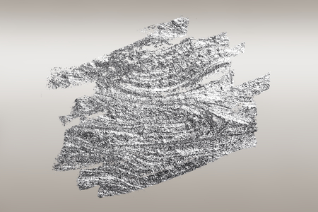 Silver brush stroked textured background