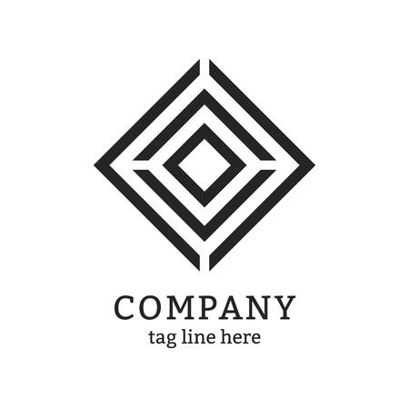 Modern company logo design vector 向量圖像
