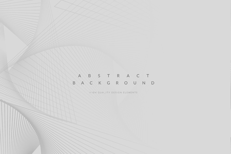 Abstract geometric patterned gray background vector