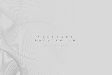 Abstracte geometrische patroon grijze achtergrond vector Vector Illustratie