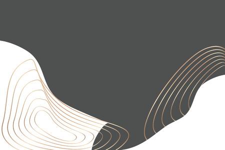 Vecteur de fond abstrait à motifs topographiques