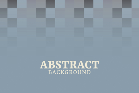 Grayish blue abstract square mosaic background vector Stock Vector - 123419991