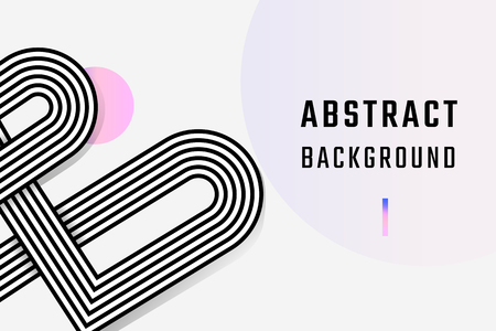 Retro white abstract background design vector