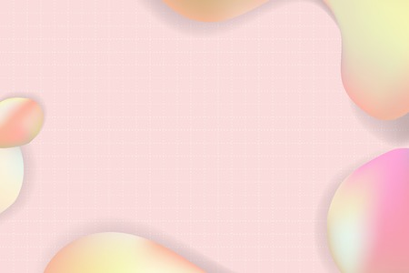 Pink pastel fluid design vector