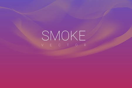 Brown smoke abstract background vector