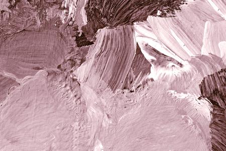Rosa Ölpinsel strich strukturierten Hintergrund