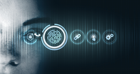 AI security with a biometric identity system