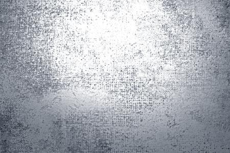 Fondo texturizado pintura plata rústica