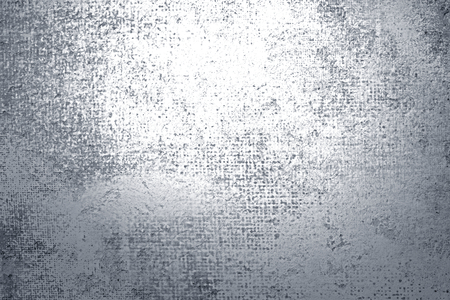 Rustic silver paint textured background
