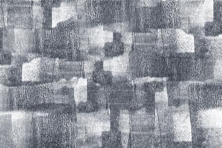 Silberner Pinselstrich strukturierter Hintergrund Standard-Bild