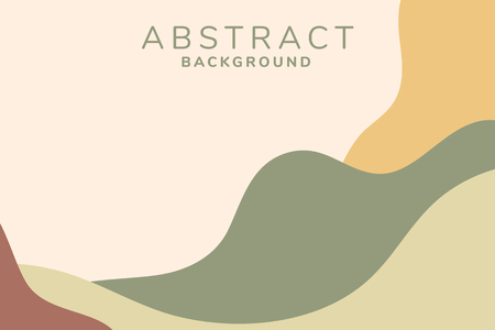 Earth tone abstract print background vector