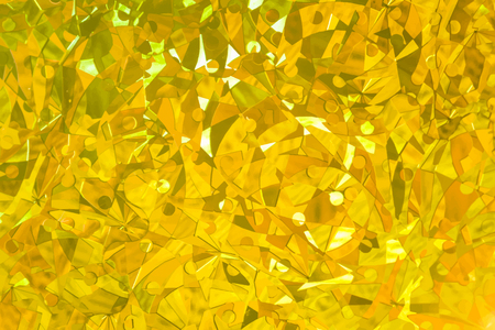 Gold abstract patterned background vector  イラスト・ベクター素材
