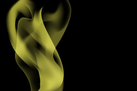 Yellow smoke abstract background vector Reklamní fotografie - 123281715