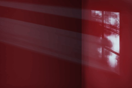 Light on a red wall background vector Illustration