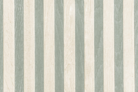 Pastel green striped wooden planks textured background vector