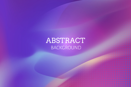 Vibrant purple abstract background vector Illustration