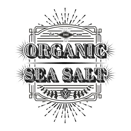 Seafood restaurant  vintage logo vector