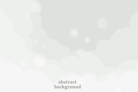 Abstract gray cloudy background vector