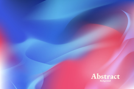 Vibrant blue abstract background vector