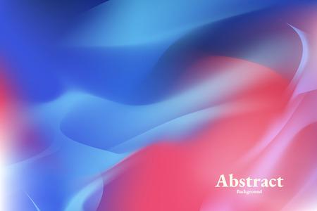Vibrierender blauer abstrakter Hintergrundvektor
