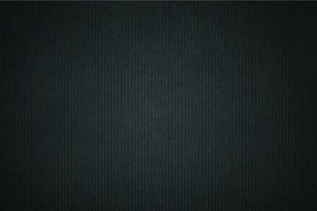 Black plain fabric textured background vector