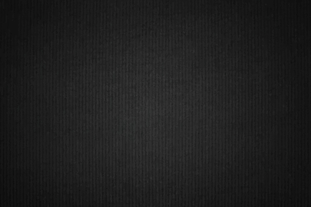 Black plain fabric textured background vector