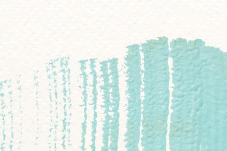 Green acrylic brush stroke vector Иллюстрация