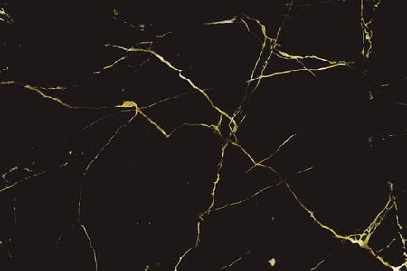 Zwart en goud marmer patroon achtergrond vector
