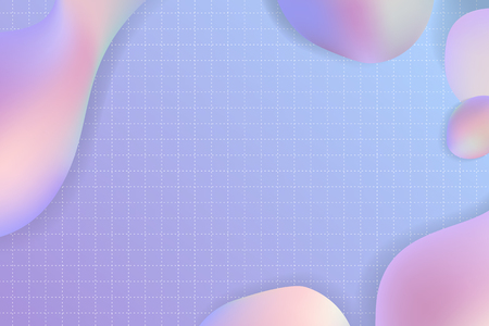 Purple pastel fluid design vector