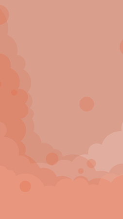 Abstract orange cloudy background vector 向量圖像