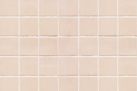 Pastel pink tiles textured background