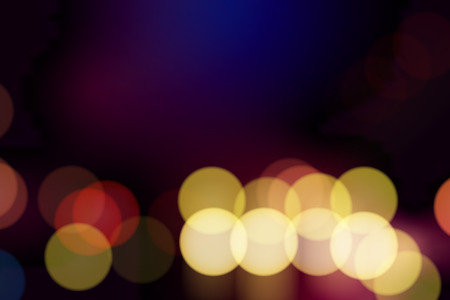 Colorful bokeh lights patterned background vector Stock Illustratie
