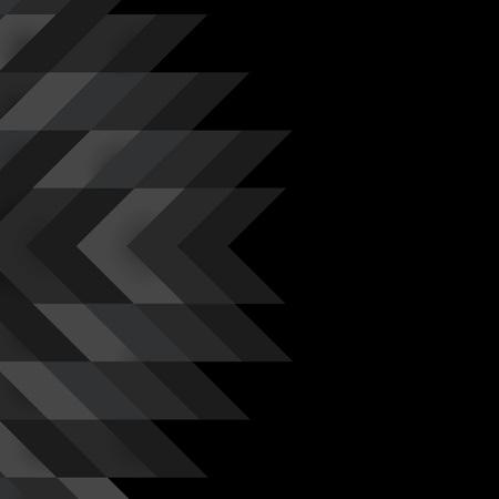 Vettore di disegno di sfondo moderno nero