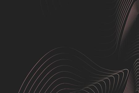 Vector de fondo de líneas de contorno topográfico