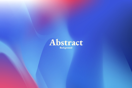 Blauer abstrakter Hintergrunddesignvektor