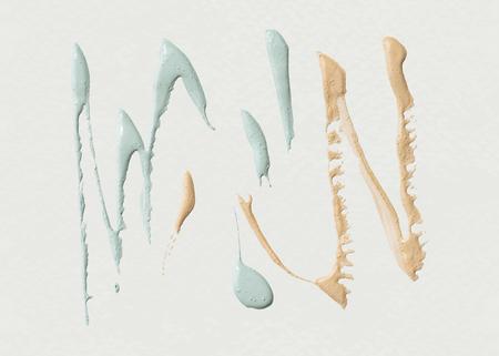 Acrylic brush stroke background vector Illustration