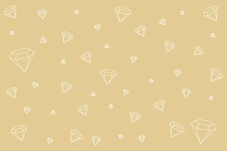 Geometric diamond design wallpaper, vector illustration Stockfoto - 121628164