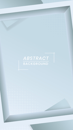 Abstract frame shape design vector