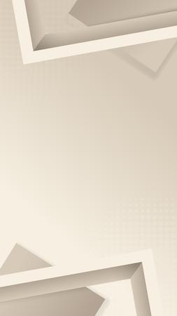 Vettore di disegno a forma di cornice astratta Vettoriali