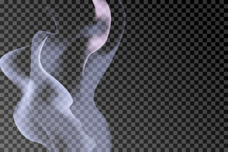 Gray smoke abstract background vector
