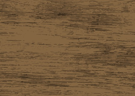 Rustic dark brown wooden textured background vector