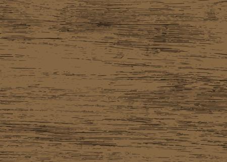 Vecteur de fond texturé en bois brun foncé rustique