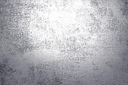 Fondo texturizado pintura plata rústica Foto de archivo