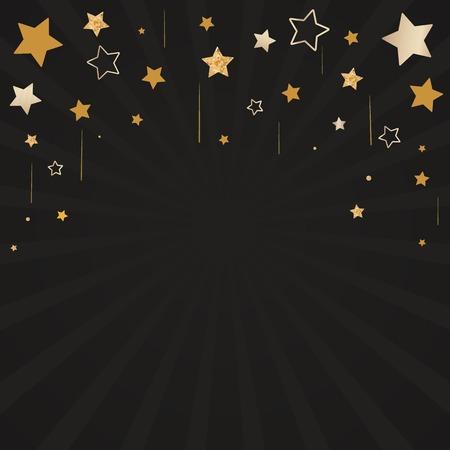 Festive stars background design vector Stock Vector - 122626778