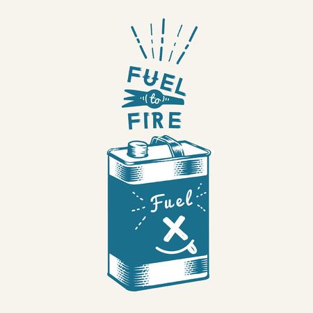 Kraftstoff zum Abfeuern des Kanistervektors
