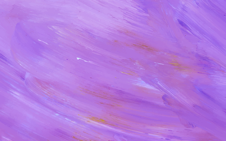 Purple abstract acrylic brush stroke textured background vector